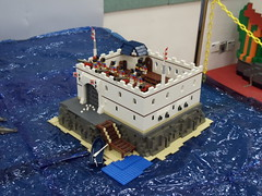 DSC01132 (Brickadier General) Tags: show railroad castle japan train hongkong japanese lego display space exhibition pirate convention sciencefiction diorama mecha cityuniversity bricksadventure