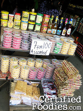 Pasalubong goodies from the stores at Strawberry Farm in Baguio - CertifiedFoodies.com