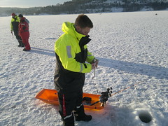 Saltwater Ice Fishing in Norway's Fjords #4