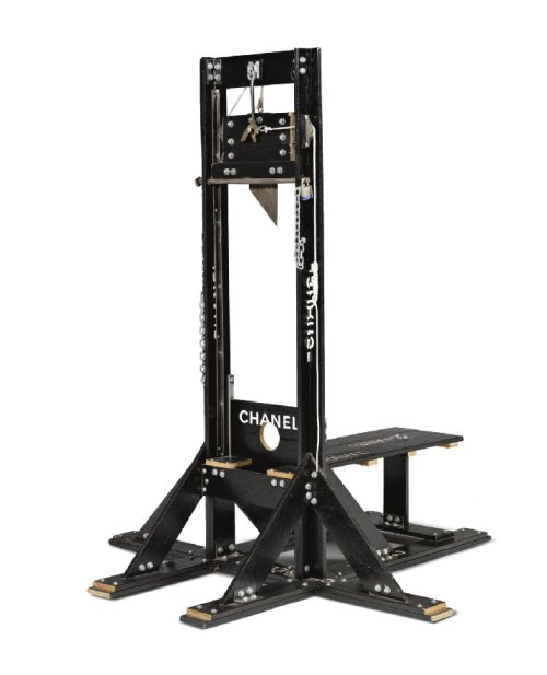 Tom Sachs, Chanel Guillotine
