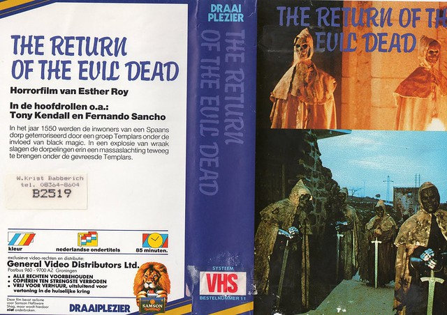 The Return Of The Evil Dead (VHS Box Art)