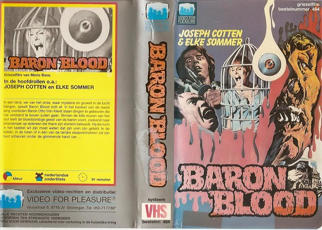Baron Blood (VHS Box Art)