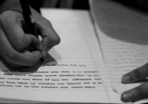 homework by appropos, on Flickr