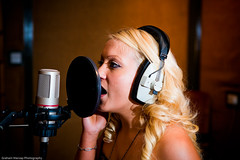 Sharron Nicholle Recording Studio Shoot-3164