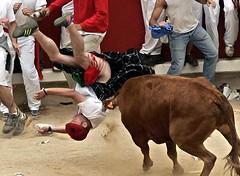 stupid (kilt4142) Tags: man male festival scotland kilt bare under scottish scot tradition kilts pamplona scots tartan kilted scotsman runningofthebulls upkilt