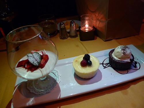 Desserts @ Firenze Osteria