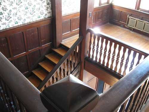 Stairway, James H. Foster Residence