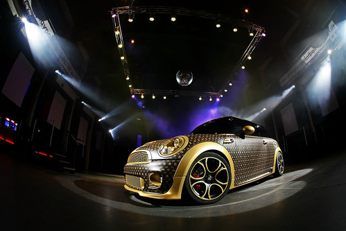 louis vuitton mini cooper by CoverEFX with 252 hp