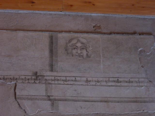 ローマの壁画のフリー写真素材