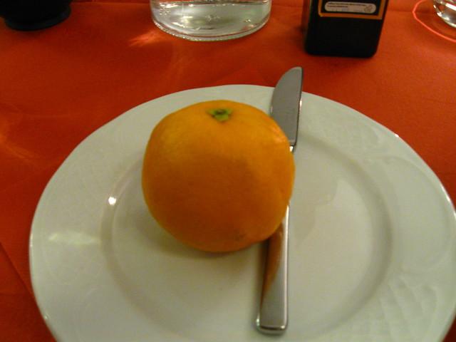 オレンジのフリー写真素材