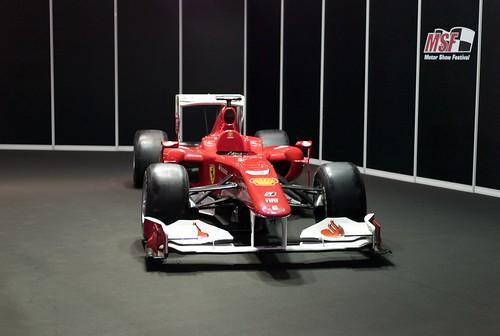 L9771080 Motor Show Festival. Ferrari F10 Fernando Alonso (2010)