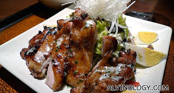 Teriyaki chicken salad