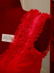 Hermione red dress progress 4