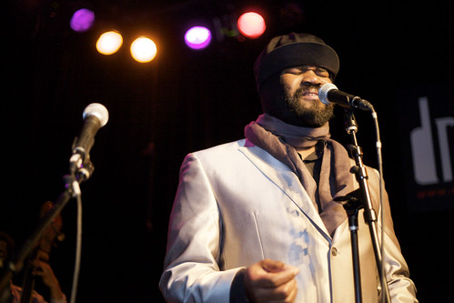 Gregory Porter celebrates Grammy nomination for Best Jazz Vocalist
