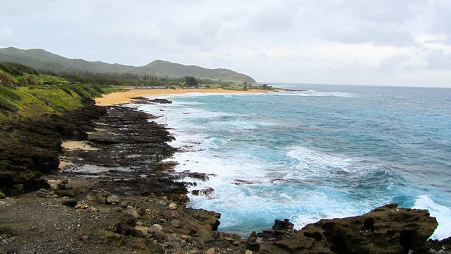 Hawaii, Oahu, Sandy Beach