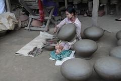 Pot Maker, Yandabo Village, Myanmar