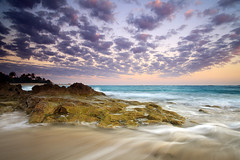 . (Dan. D.) Tags: ocean sunset sea sky cloud sun seascape color beach water canon landscape long exposure dominicanrepublic dr south palm exposition filter nd 5d reverse reef polarizer grad 1740mm rd mkii raise sunraise sosua cabarete kitebeach