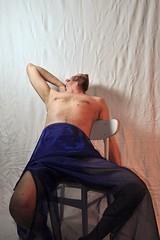 Chair (mikael_on_flickr) Tags: gay selfportrait man male guy classic me self ego studio chair sitting body posing moi io uomo study covered autoritratto mann ich sedia seminude hombre tenda corpo homme mikael seminaked drapery seduto coperto i malestudy nakedstudy drapeggiato