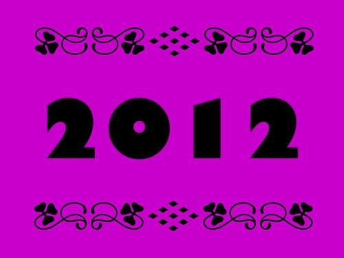 Buzzword Bingo: 2012