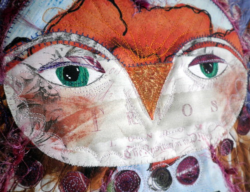 Project QUILTING - Be My Valentine Challenge Entry - Owl Be Yours