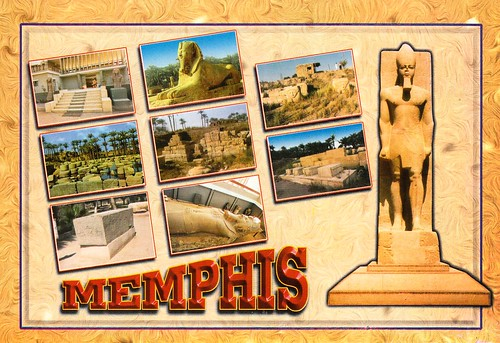 Memphis and its Necropolis - the Pyramid fields from Giza to Dahshur