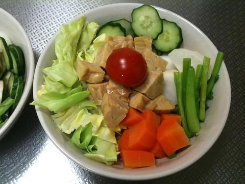 朝食サラダ(2011/2/14)