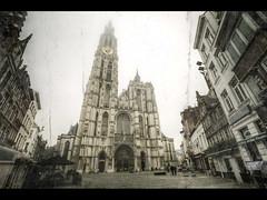 Antwerp, Belgium (Kaj Bjurman) Tags: mist church fog eos cathedral belgium 5d antwerp hdr antwerpen kaj markii cs4 photomatix bjurman devoxx