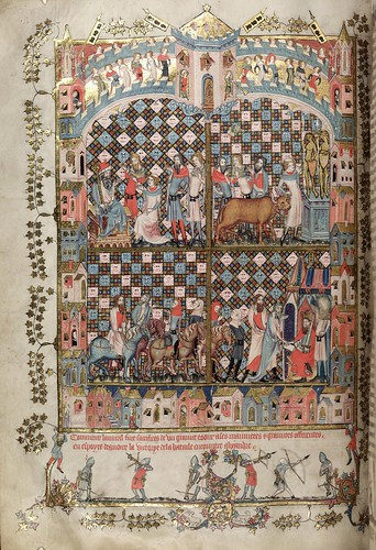007-folio 88 verso-The Romance of Alexander - MS. Bodl. 264 © Bodleian Library-University of Oxford 1999