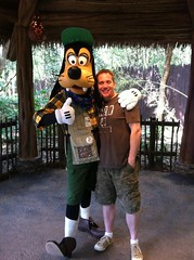 Day 365 Hanging with Goofy at Walt Disney World