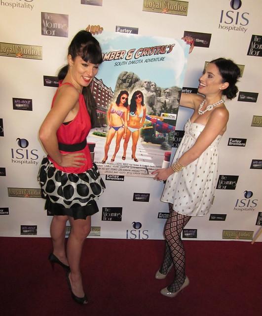 Amber (Samantha Gutstadt) and Crystal (Camille Solari), South Dakota Adventure