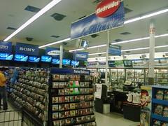 Wal-Mart - Shenandoah, Iowa - Electronics (fourstarcashiernathan) Tags: city food southwest store discount iowa mcdonalds walmart shenandoah hyvee