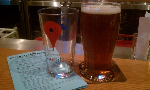 Free pints (and pint glasses) at Deschutes