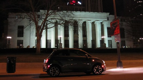 22 - 2012 FIAT 500 - downtown Columbus, OH