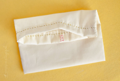 Little Bag Tutorial: Top Seam