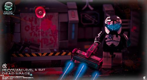 Custom minifig Custom Dead Space Minifig Level 6 Suit2