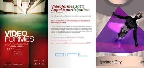 SynchroniCity_announcement Vidéoformes festival