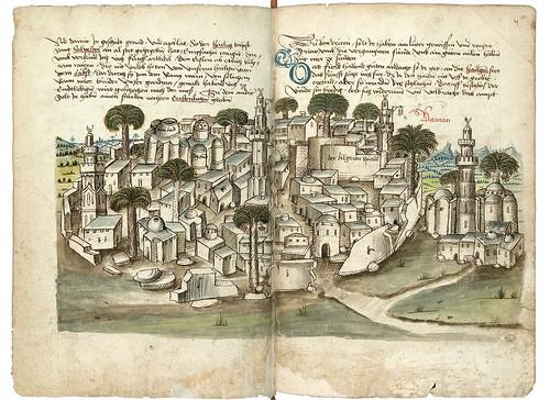 009-Amman-Konrad von Grünenberg- Beschreibung der Reise von Konstanz nach Jerusalem 1487- © 2010 Badische Landesbibliothek