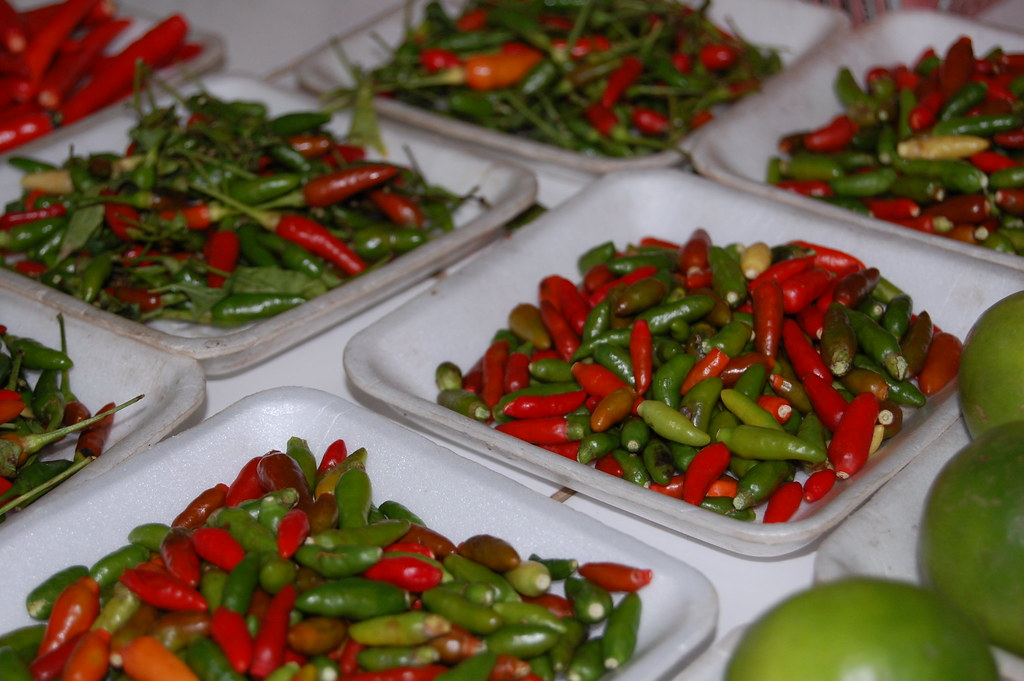 Thai dynamite peppers