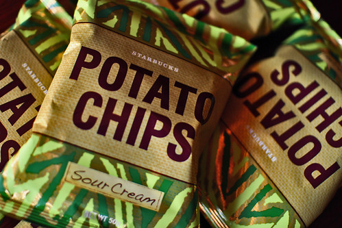 starbucks potato chips