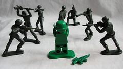 Awkward . . . (TrooperGuy) Tags: man toy army lego story moc brickarms