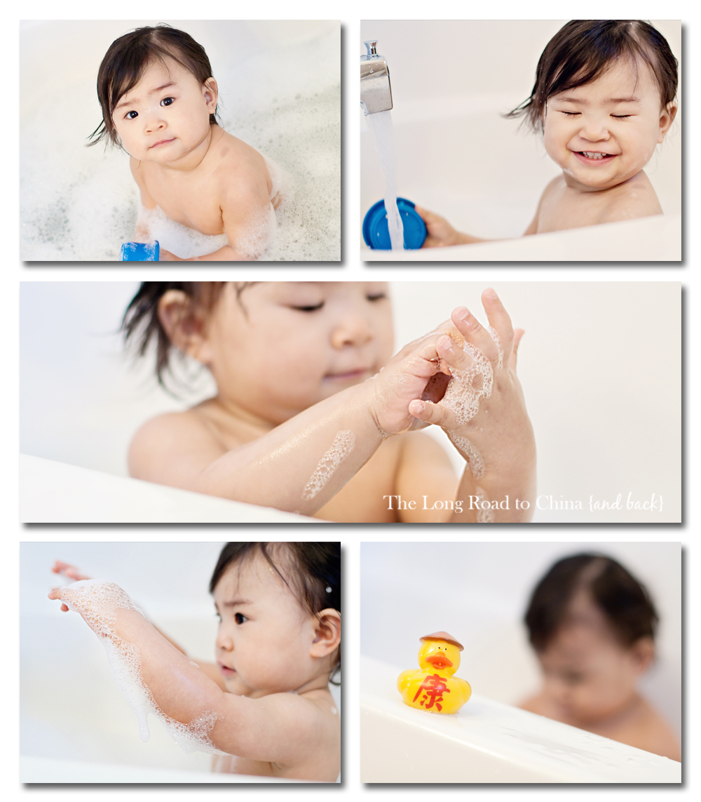 Bath Time Two Storybaord