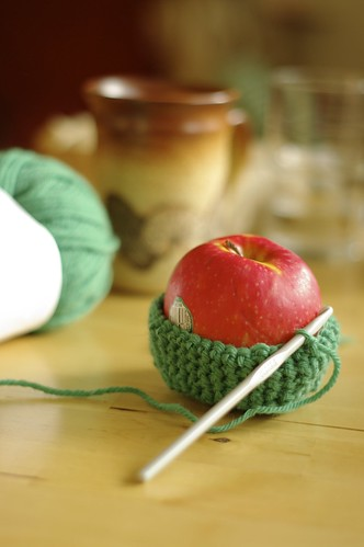 Making my own apple cozy