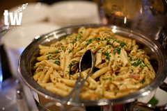 Penne Pasta with Sausage, Tomatoes, Parmesan and Cream (D'Amico Catering) Tags: wedding stpaul minneapolis event twincities venue caterer catering cater damico damicocatering