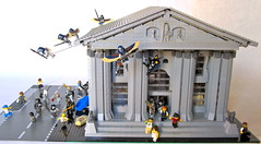 Mummy Museum front (Imagine) Tags: building museum architecture toys lego minifigs mummy mummies moc foitsop imaginerigney pharohsquest