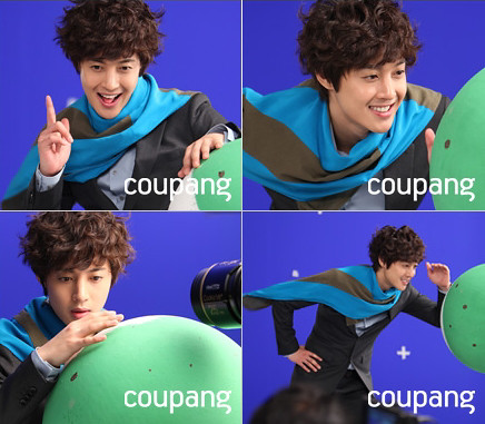 Kim Hyun Joong Models For Coupang