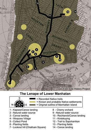 Lenape Map