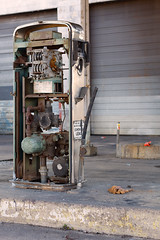 Sorry no gas (IM2_OCD) Tags: urban abandoned metal canon concrete day littlerock decay arkansas derelict fuelpump guage 60d sigma50mmdgexf28