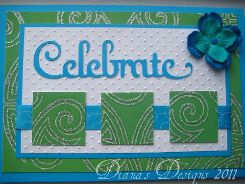 "Bridal Shower Card - ""Celebrate"""