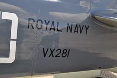 Sea Fury T20 VX28I G-RNHF (Richard.Crockett 64) Tags: funday essex trainer hawker airfield 2010 royalnavy fleetairarm t20 seafury rnhf northweald royalnavyhistoricflight vx281 grnhf navalaviationltd