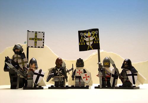 Custom minifig crusader custom minifigs